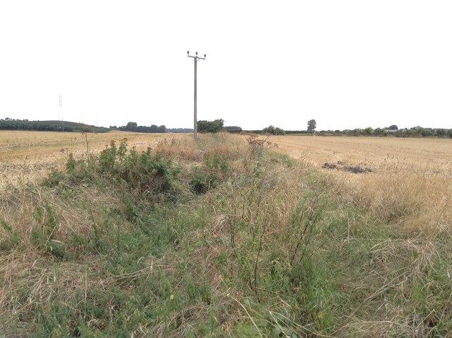 Former level crossing over East Kent Light Railway