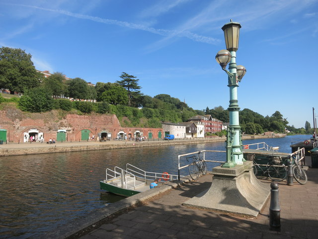 River Exe by the Ferry