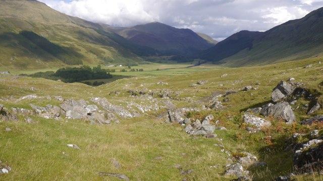 Track out of Gleann Dà-Eig