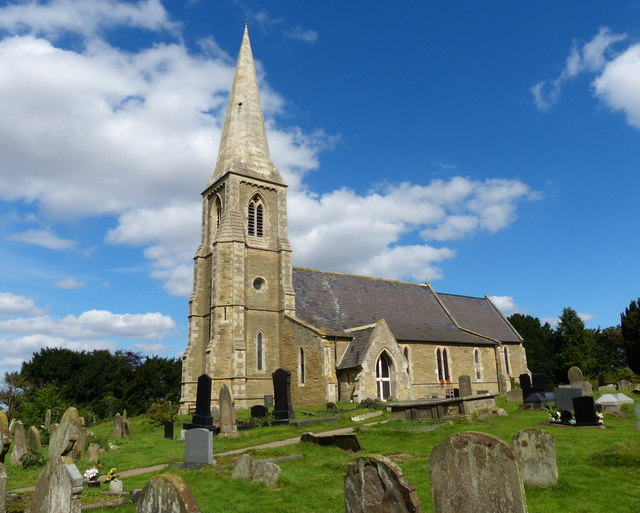 St Oswald's church in Luddington