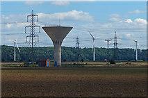 SE8317 : Garthorpe Water Tower by Mat Fascione