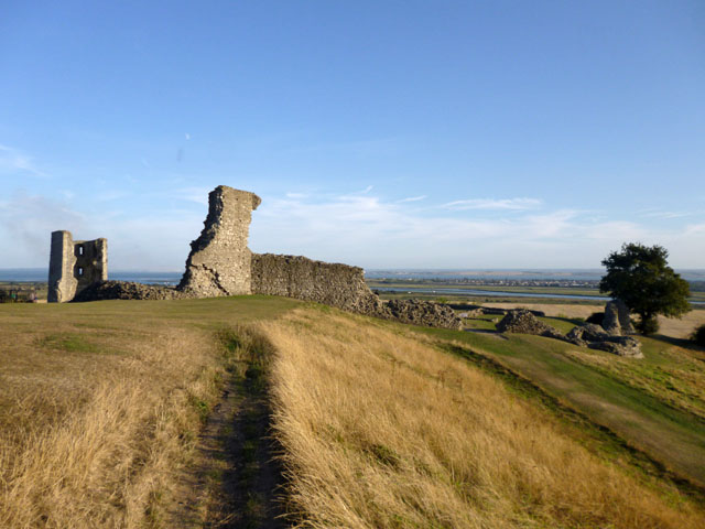 Hadleigh Castle from the north-west