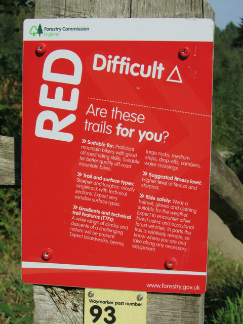 Red Route sign