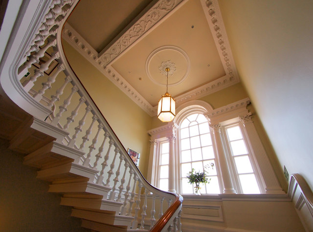 The Main Stairway in Blades House