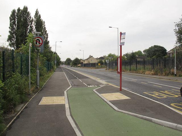 Cycleway on Dick Lane