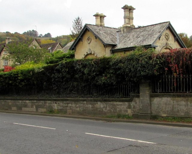 Grade II listed Grey Gables, Woodchester