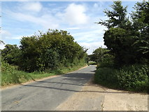 TL9467 : Bull Road, Stowlangtoft by Adrian Cable