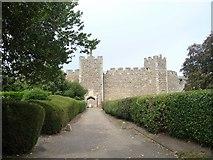 TM2863 : Framlingham Castle [1] by Michael Dibb