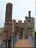 TM2863 : Framlingham Castle [8] by Michael Dibb