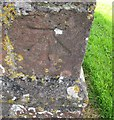 ST6361 : Ordnance Survey Cut Mark by Adrian Dust