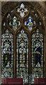 TA0321 : Stained glass window, St Peter's church, Barton-Upon-Humber by Julian P Guffogg