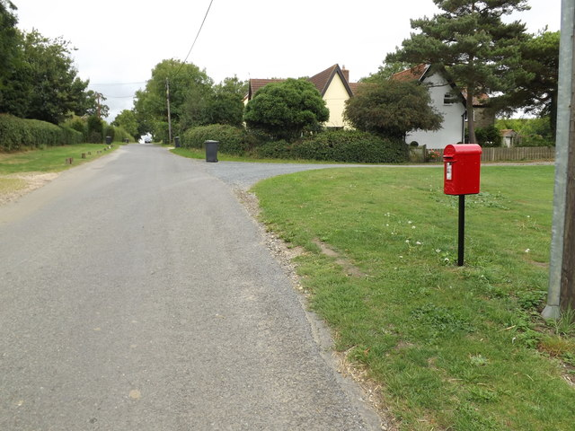 Kiln Lane & The Kiln George V Postbox