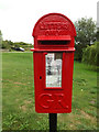 TL9669 : The Kiln George V Postbox by Adrian Cable