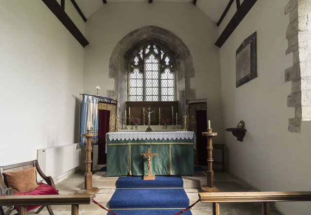 Chancel, St Andrew's church, Bonby
