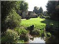 ST3505 : Cottage at Forde Abbey by Becky Williamson