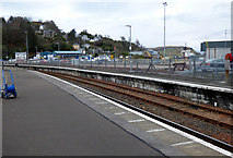 NM8529 : Oban railway station by Thomas Nugent