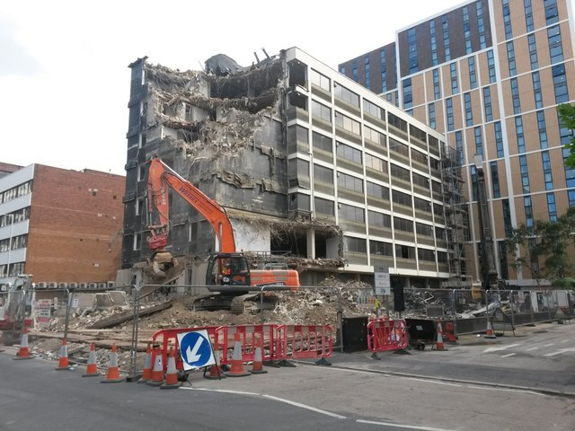 Bournemouth: demolition of 13-19 Oxford Road