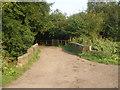 SD8605 : Lever Bridge in Alkrington Wood by John Slater