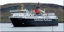 NM8529 : Ferry Isle of Mull approaching Oban by Thomas Nugent