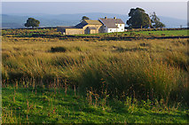 SD7056 : Farm, Merrybent Hill by Ian Taylor