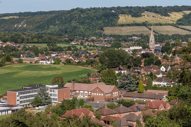 Towards Dorking