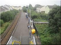 SX0159 : Bugle railway station, Cornwall by Nigel Thompson