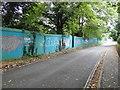 TG1101 : Eyesore hoarding by Country & Metropolitan Homes by Adrian S Pye