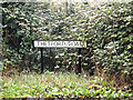 TL9271 : Thetford Road sign by Adrian Cable