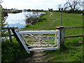 SK7953 : Clapper gates along the River Trent by Mat Fascione