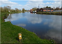 SK7953 : The River Trent in Newark by Mat Fascione