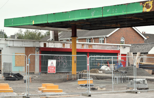 Former petrol station, Grand Parade, Belfast (September 2016)