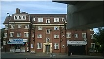 TQ1885 : Shops and flats on Empire Way, Wembley by Christopher Hilton