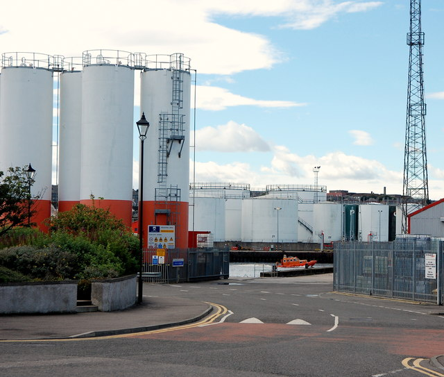 Silos, Aberdeen Harbour