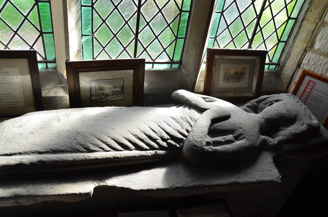 Effigy, St Clement's church, Worlaby
