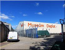 TQ1979 : London Transport Museum Depot by Des Blenkinsopp