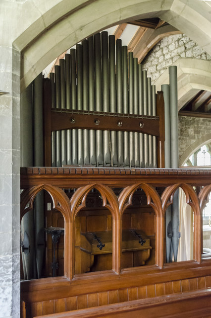 Organ, St Clement's church, Worlaby