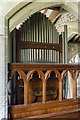 TA0114 : Organ, St Clement's church, Worlaby by Julian P Guffogg