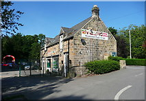 SE2837 : Meanwood Park Cafe, Leeds by Humphrey Bolton
