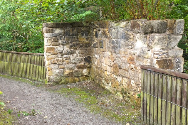 Remains of Low Mill, Valleyfield Penicuik
