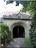SP0202 : Norman arch, Cirencester by pam fray