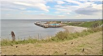 NZ4349 : Seaham North Pier and Harbour by Chris Morgan