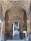SP0202 : The South Porch, St. John Baptist Church, Cirencester by pam fray