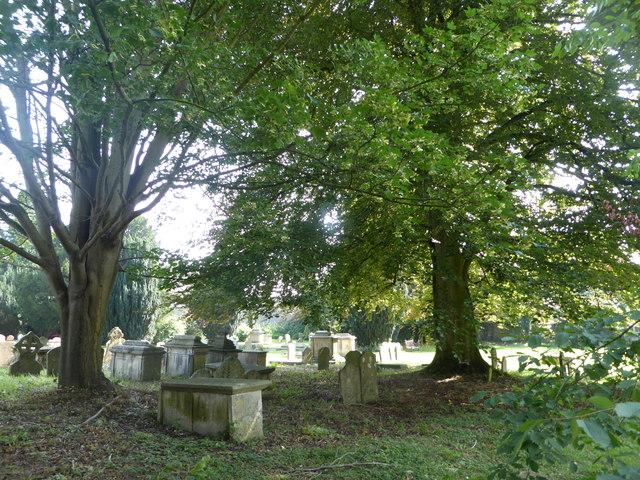 Churchyard of St. John Baptist Church, Cirencester
