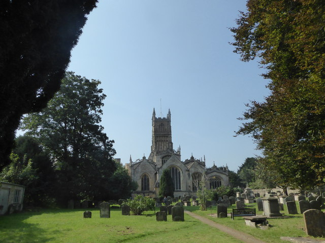The Church of St. John Baptist, Cirencester