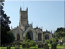 SP0202 : The Church of St. John Baptist, Cirencester by pam fray