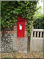 TL9870 : West Street Victorian Postbox by Adrian Cable