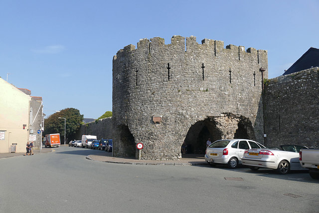 The Five Arches, Tenby