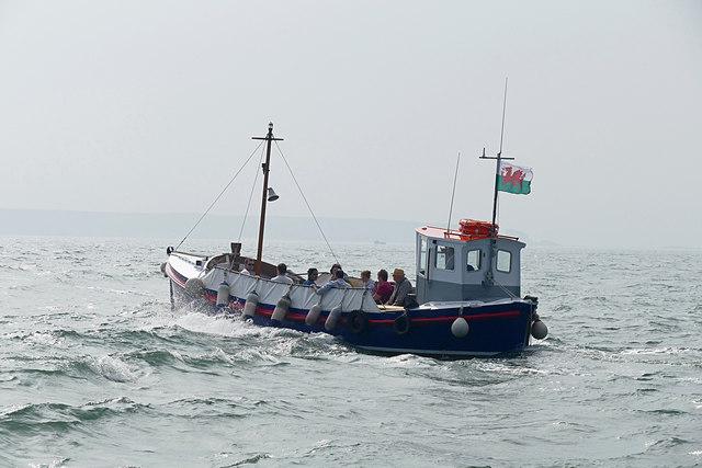 Tenby, pleasure boat