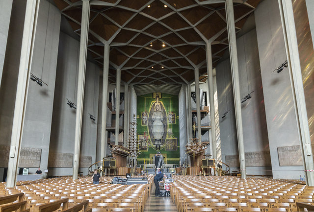 Interior, Coventry Cathedral