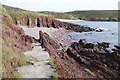 SS0597 : Manorbier Beach by Alan Hunt